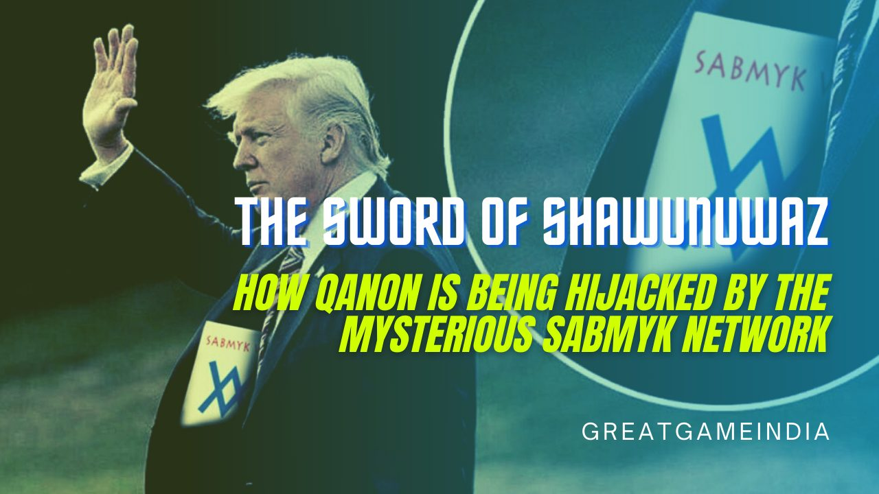 The Sword Of Shawunuwaz - How QAnon Is Being Hijacked By The Mysterious Sabmyk Network